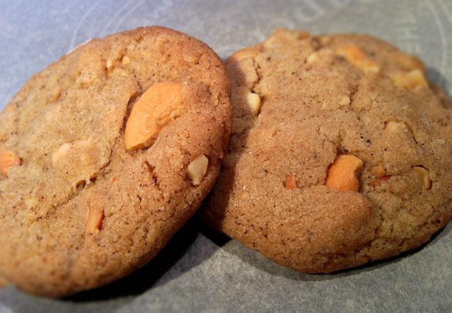 Browned Butter Coconut Cashew Cookies Recipe