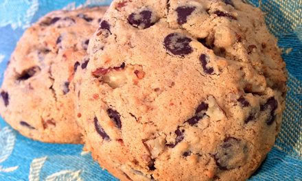 Guilt-free, Low Carb and Low Gluten Chocolate Chip Cookies