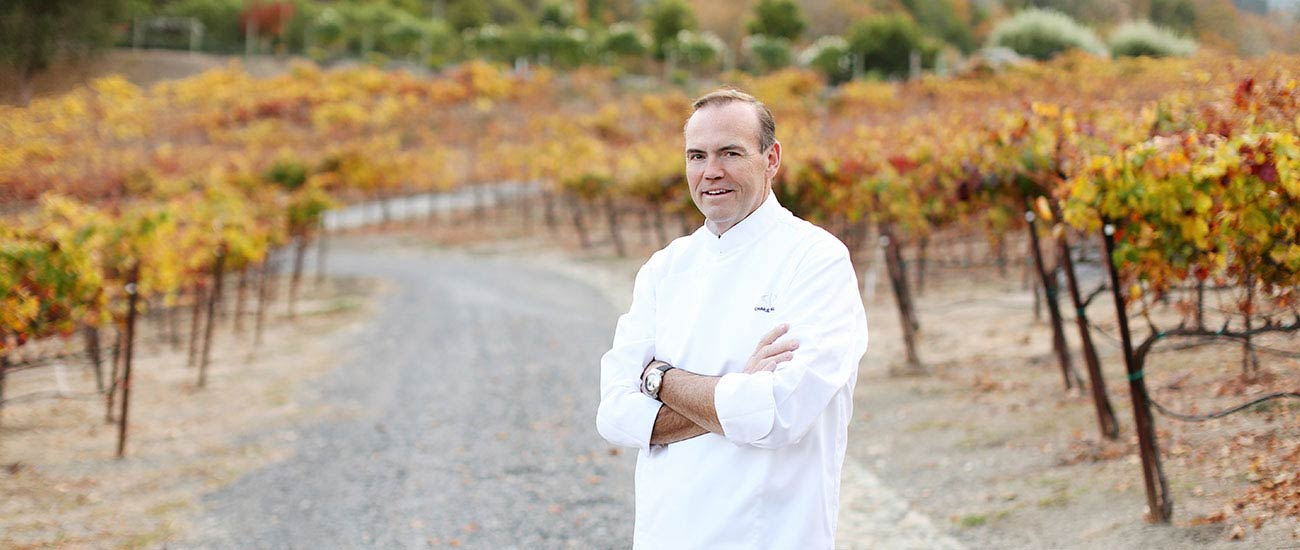 Chef Charlie Palmer will open Harvest Table at the Harvest Inn in Napa
