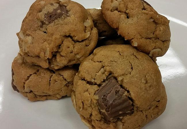 Gluten Free Peanut Butter Cup Cookie Recipe