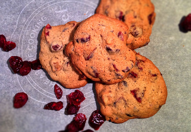 Drunken Missionary Cranberry Brandy Cookies