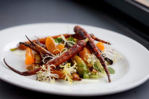 Carrots at Atlas Social in Napa, which opened in 2015. Courtesy photo