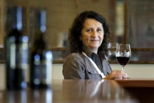 Amelia Moran Ceja is the president and owner of Ceja Vineyards in Sonoma. (photo by Beth Schlanker)