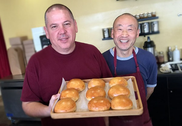 The owners of East Wind Bakery