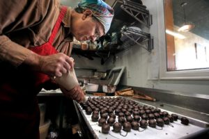 David Gambill, co-founder and chief confectioner of Sonoma Chocolatiers.