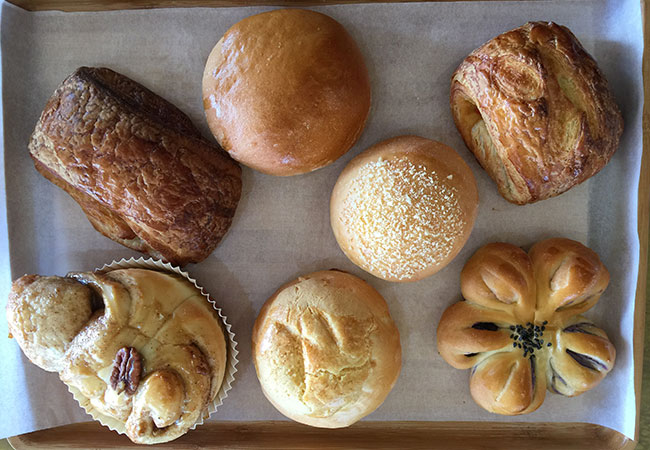 East Wind Bakery in Santa Rosa features bao, kimchee-stuffed croissants and milk bread made daily. Photo: Heather Irwin