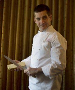 Chef Jesse Mallgren at Madrona Manor Restaurant in Healdsburg.