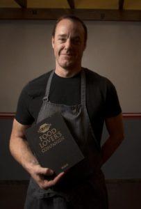 Chef/Owner Darren McRonald at The Pullman Kitchen in Santa Rosa's Railroad Square.