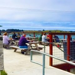 Million dollar views with your fish and chips?: The Birds Cafe, Bodega Bay