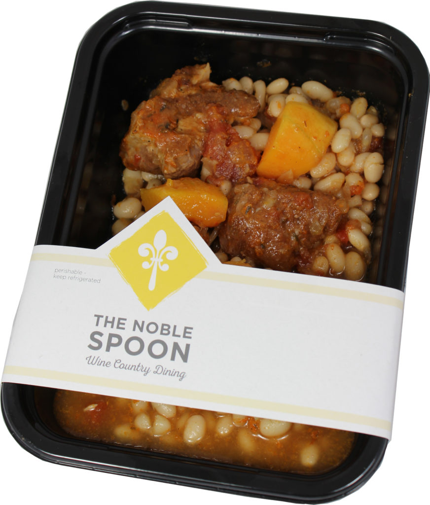 Noble Spoon's pork cassoulet, inspired by a recipe from Chef John Ash