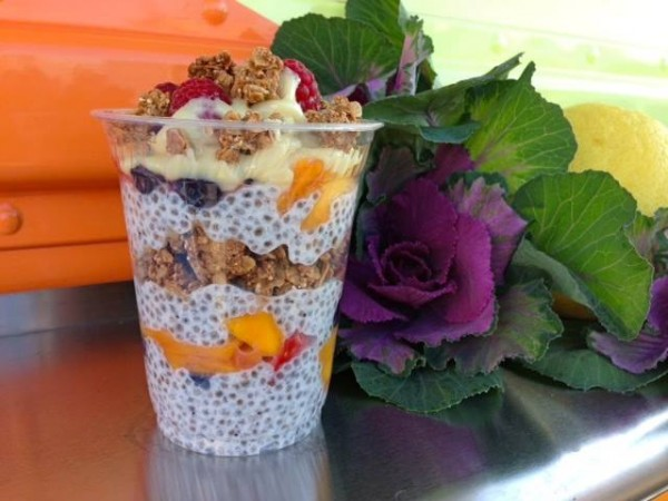 Seed on the Go's Chia Parfait