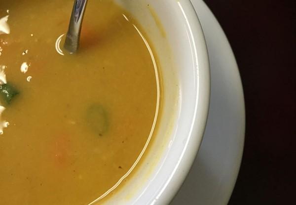 daal at Tofu chili at Himalayan Cafe & Grill in Santa Rosa