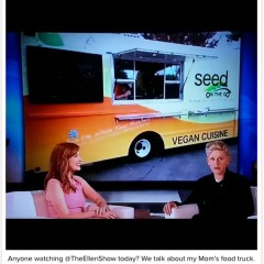 Movie star Jessica Chastain buys her Santa Rosa mom a vegan food truck, Seed on the Go: Seed on the Go