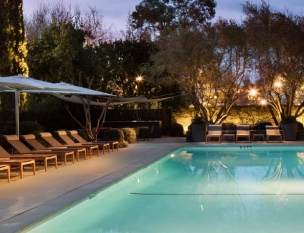 Pool at Hotel Healdsburg.