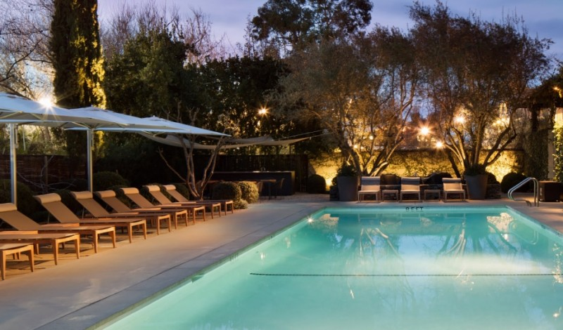 Pool at Hotel Healdsburg.