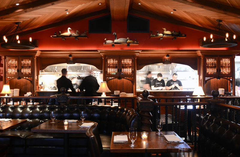 Goose & Gander in St. Helena, CA has announced a new chef