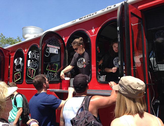Sonoma's Tri Tip Trolley