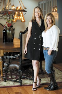 Designer Amanda Bloom and homeowner Toni Andrews had a shared vision of what the cabin could be.