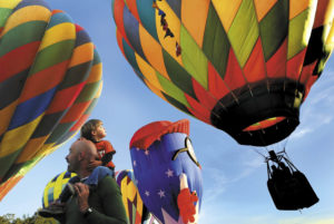 Sonoma County Hot Air Balloon Classic. (photo by John Burgess)