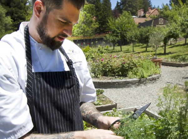 Chef Jamil Peden at Applewood Inn and Restaurant