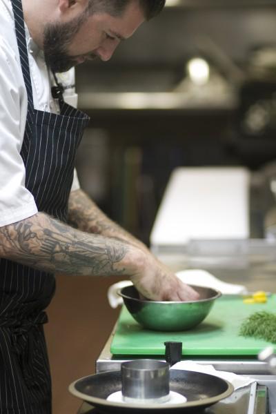 Chef Jamil Peden at Applewood Inn and Restaurant