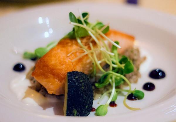 Salmon at Applewood Inn and Restaurant