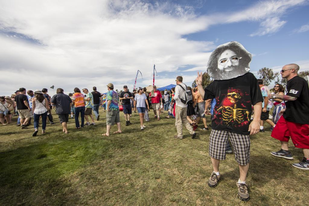 Ambiance at Grateful Dead Fare Thee Well Show at Levi's Stadium on Saturday, June 27, 2015, in Santa Clara. (Photo by Jay Blakesberg/Invision for the Grateful Dead/AP Images)