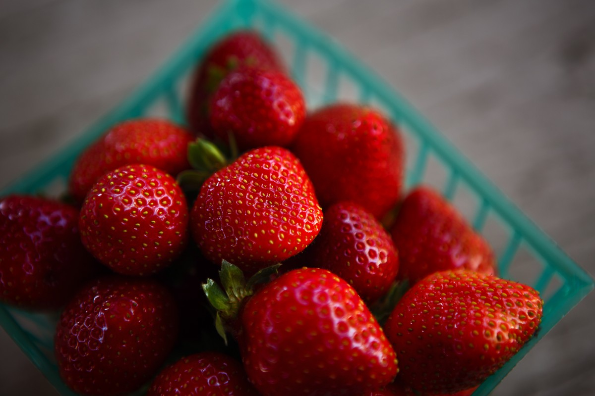 Sonoma strawberries. (Photo by Chris Hardy)