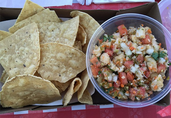 Ceviche at the Sonoma County Fair 2015