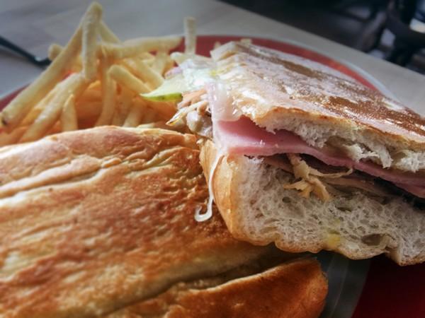 Cuban Sandwich at Rumba Cuban Kitchen in Windsor, CA. Photo: Heather Irwin.
