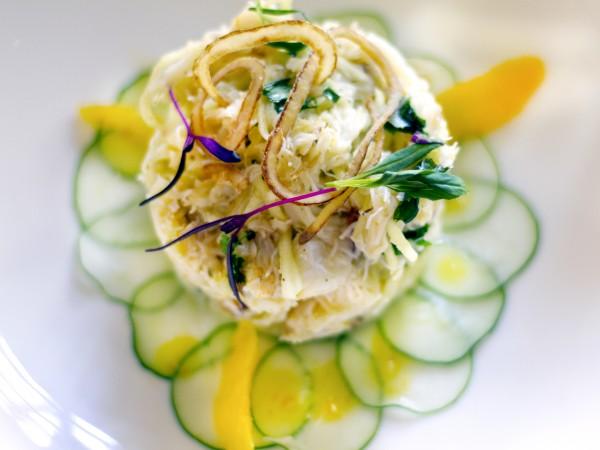 Dungeness Crab at Dry Creek Kitchen in Healdsburg. Photo: ©Heather Irwin