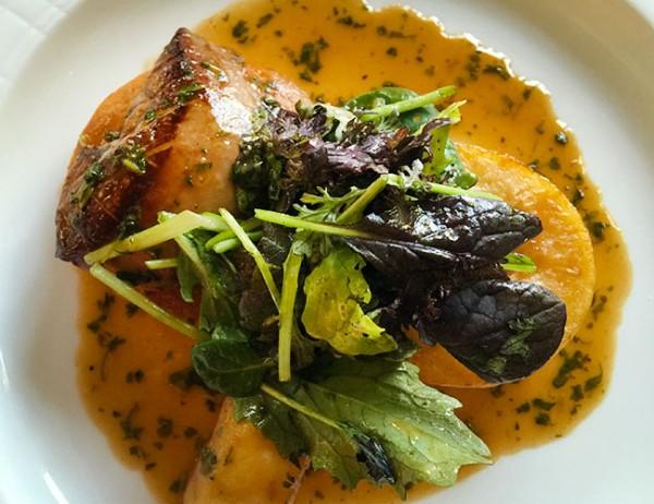 Foie gras at Dry Creek Kitchen in Healdsburg. Photo: ©Heather Irwin