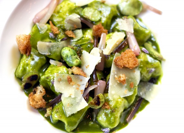Gnocchi at Harvest Table in St. Helena. Photo: ©Heather Irwin