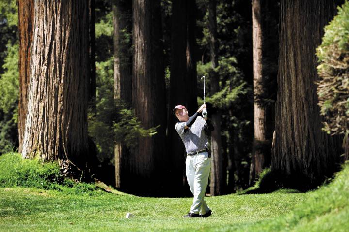 Northwood Golf Course, Monte Rio. (photo by John Burgess)
