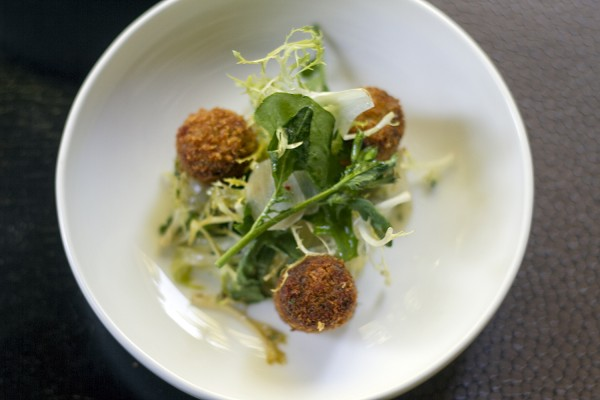 Pig Head Tots at Harvest Table in St. Helena Photo: ©Heather Irwin
