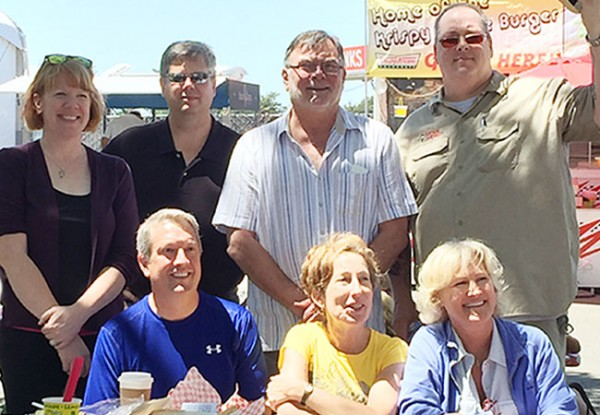 Best Scramble Team Ever! The Sonoma County Fair Food Scramblers 2015