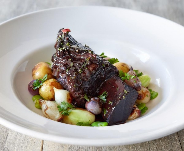 Short ribs at Hazel Restaurant. Photos by Sherry Heck Photography