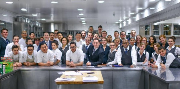 One of the most professional and talented teams out there.  Thank you for accepting me into your fold without smelling me twice.   Twelve Days of Christmas: Christopher Kostow  The Restaurant at Meadowood  Meadowood Napa Valley  St. Helena, California (December 20, 2014) the ulterior epicure | Twitter | Facebook | Instagram | Bonjwing Photography