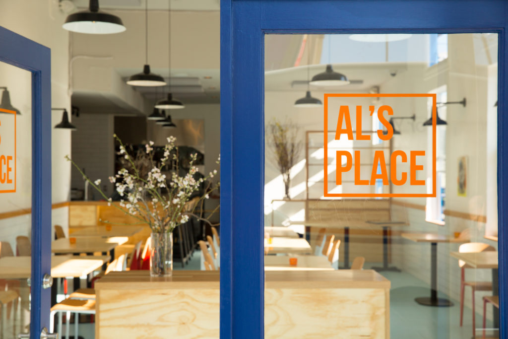 AL's Place wins Bon Appetit Best Restaurant 2015, tapping Sonoma County native Aaron London for kudos. Photo courtesy of AL's Place (alsplacesf.com)