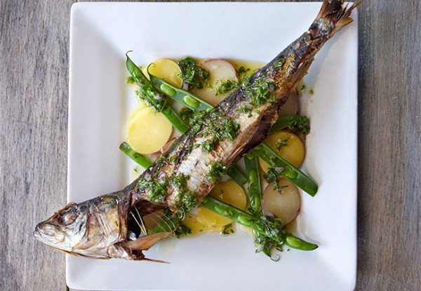 Branzino at Hazel Restaurant. Photo: Hazel Restaurant