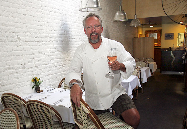 Ralph Tingle of Bistro Ralph in Healdsburg. File photo: Jeff Kan Lee, 2008, Press Democrat.