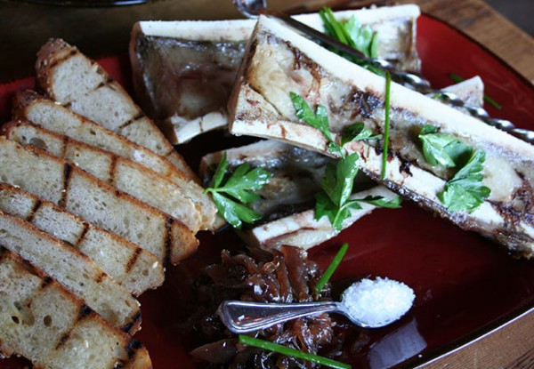 Heritage Public House in Santa Rosa: Bone Marrow Photo Heather Irwin