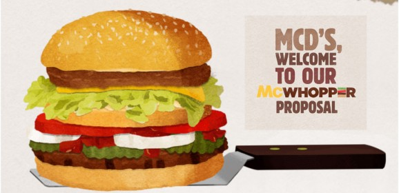 McDonald's Totally Fails with response to McWhopper Proposal from Burger King
