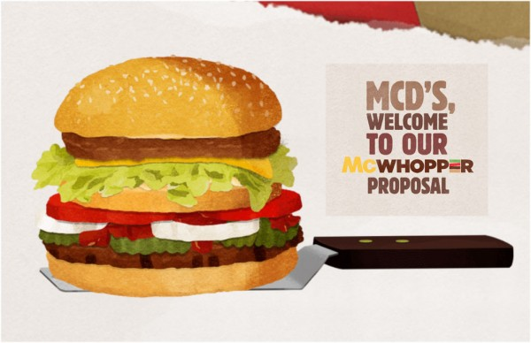 The proposed McWhopper