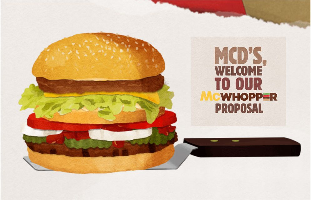 mcdonalds and burger king job design Burger king is proposing a one-day truce with mcdonald's to sell a meal blending their burgers proceeds would go to raise awareness of the no burger king executive was available for comment, but in a news release, fernando machado, the company's senior vice president for global brand.