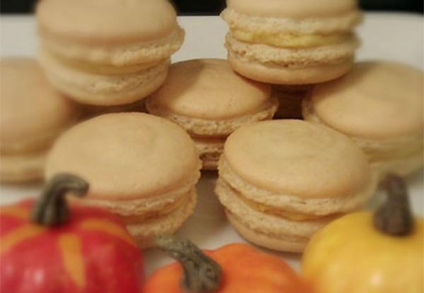 Pumpkin Spice Macarons at Rechere du Plaisir, 3401 Cleveland Ave #9, Santa Rosa