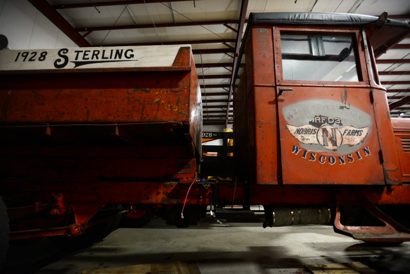 A 1928 Sterling truck from Wisconsin at Timber Crest Farms in Healdsburg, California. July 13, 2015. (Erik Castro