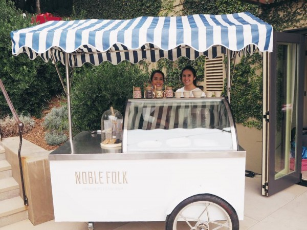 Noble Folk Ice Cream Cart (from the Facebook page)