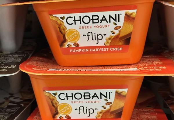 Pumpkin Spiced Chobani