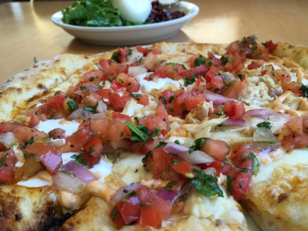 Chipotle Chicken Pizza from Persona in Santa Rosa